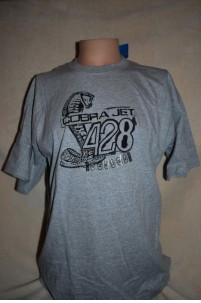 FORD COBRA 428 T SHIRT SS GREY Image