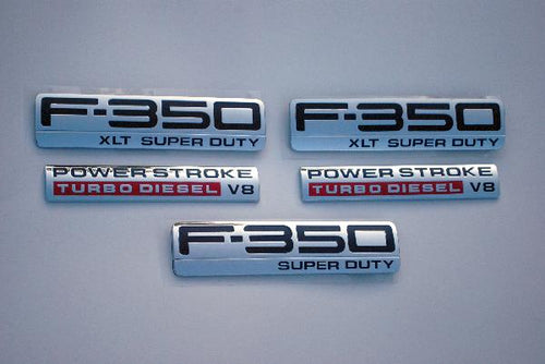 F350 XLT Emblem Package 2005 2006 2007 - FordPartsOne