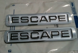 2008-2009-2010-2011 Ford Escape Door Emblem Set - FordPartsOne