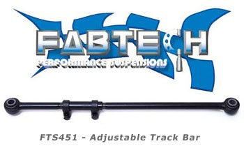 Fabtech 1995.5-2004 Ford SuperDuty 4WD Adjustable Track Bar # FTS451