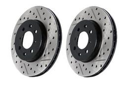StopTech Brake Rotors - SportStop Drilled & Slotted Nissan 370Z (LEFT SIDE)