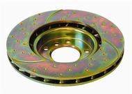 EBC GD Sport Series Performance Brake Rotors (Front) - Nissan 350Z/G35 03-08