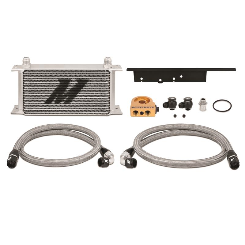 NISSAN 350Z, 2003-2009/INFINITI G35, 2003-2007 (COUPE ONLY) OIL COOLER KIT SILVER