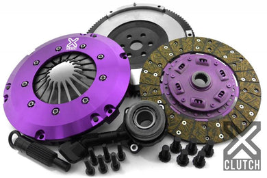 XClutch Clutch Kit with Chromoly Flywheel + HRB Stage 1 Single Sprung Organic Disc Ford
