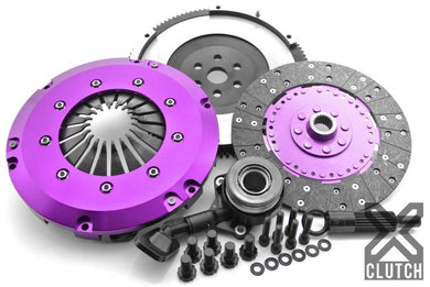 XClutch Clutch Kit Stage 1 Single Solid Organic Disc with Hydraulic Release Bearing Ford