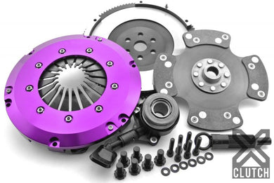 XClutch Clutch Kit with Chromoly Flywheel + HRB Stage 3 Carbon Blade Clutch Disc Ford