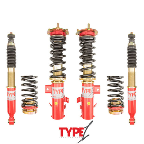 Function and Form Type 1 Coilovers Acura CL | Honda Accord CB | Honda Accord CD 90-99