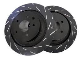 EBC Ultimax USR Slotted Rotors (Front) - Nissan 350Z/G35