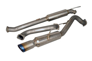 Injen Performance Exhaust System / Race Series 2014-2017 Ford Fiesta ST L4-1.6L Turbo No Tip