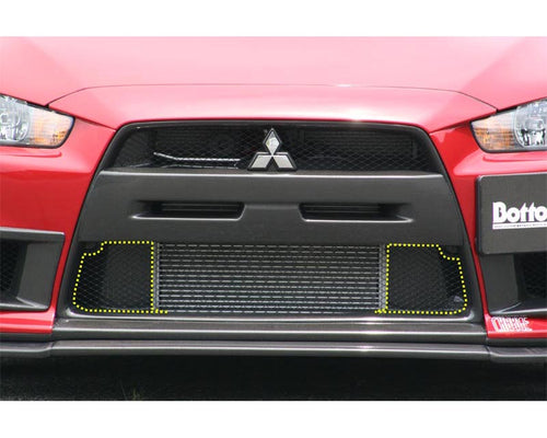 ChargeSpeed Carbon Lower Inner Section Plates Mitsubishi EVO X 08-12