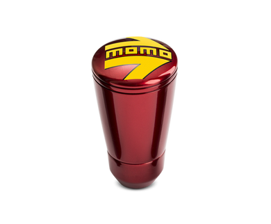 Momo Shift Knob - SK 50, Red Aluminum
