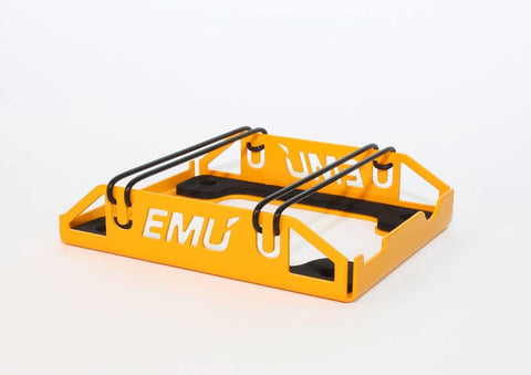 ECU Master Mounting Bracket for EMU - Yellow