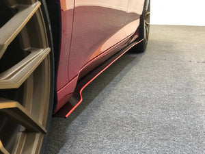 DOWN FORCE SOLUTIONS V1 SIDE SKIRTS 2018 – 2019 HONDA ACCORD