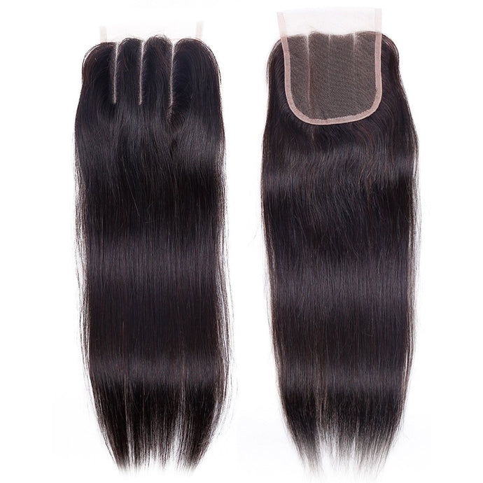 Closures 3-Part Straight Hair 8