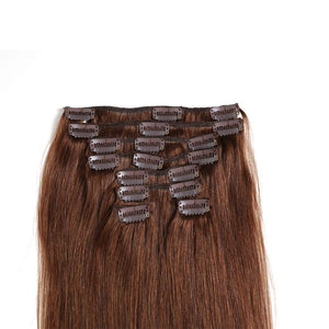 "22"" Real Clip in Hair Extensions (11 colors) - Enchant Global"