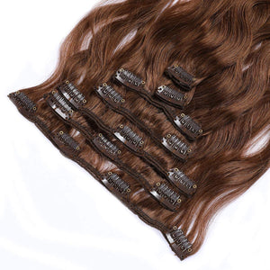 "20"" Real Clip in Hair Extensions Bodywave (11 colors) - Enchant Global"