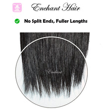 "Load image into Gallery viewer, 12"" Straight Hair 3 Bundles + Closure - Enchant Global"