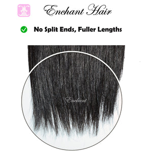 26 inch Straight Hair 3 Bundles + Closure - Enchant Global