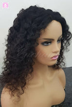 "Load image into Gallery viewer, 16"" Curly Hair Wigs Mongolian Deep Curly Hair"