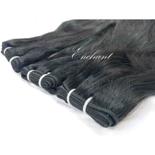 Load image into Gallery viewer, 24 inch Straight Hair 3 Bundles + Closure - Enchant Global