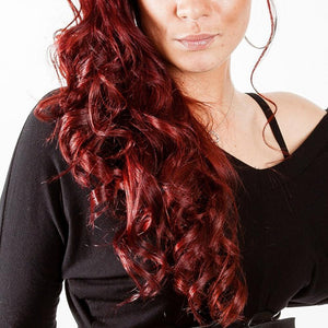 "Red Hair Wavy Loose Curls Wig 16"" - 30"" - Enchant Global"