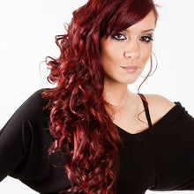 "Load image into Gallery viewer, Red Hair Wavy Loose Curls Wig 16"" - 30"" - Enchant Global"
