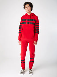 Red Lined Hoodie
