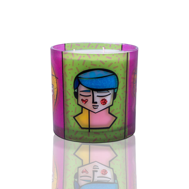 Romero Britto Candles - 55oz - Grant & Lily