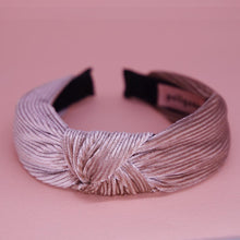 Load image into Gallery viewer, In a Knot Headband in Dusky Pink | Headbands | Pollyanna Brand