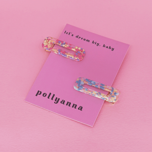 Long Hot Summer | Hair Clips | Pollyanna Brand