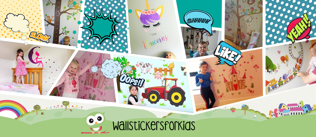 Create An Oasis In Your Child's Bedroom With These Wall Stickers For Kids