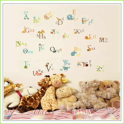 A - Z Animals Wall Sticker on WallStickers.ie