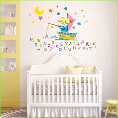 Alphabet Sea Wall Decals on WallStickers.ie
