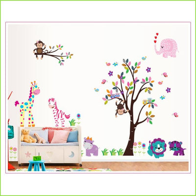 Animal Jungle Wall Sticker XL on WallStickers.ie