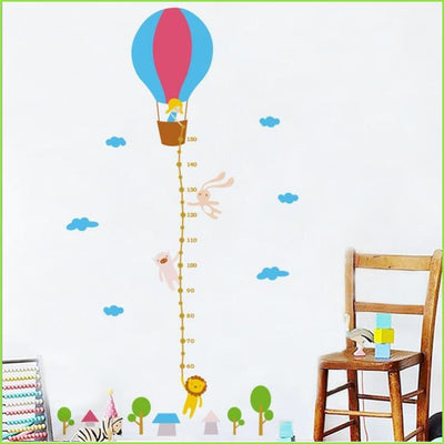 Balloon Height Chart - Sticker