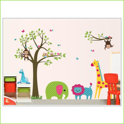 Big 5 Animals Wall Stickers on WallStickers.ie