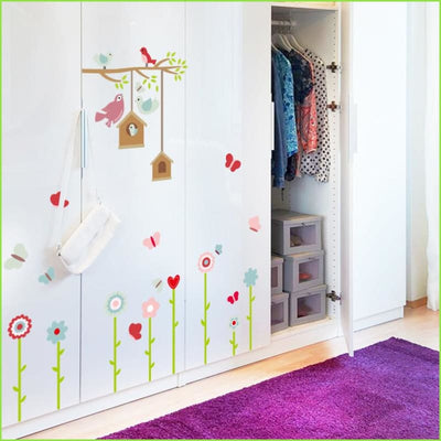 Bird Tree Skirting Border on WallStickers.ie