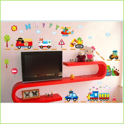 Boys Toys Wall Stickers Decals on WallStickers.ie