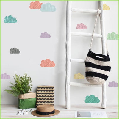 Colour Clouds Wall Stickers on WallStickers.ie