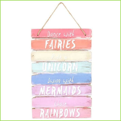 Dance With Fairies Plaque on WallStickers.ie