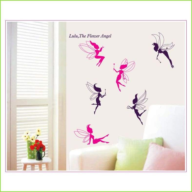 Deluxe Fairies Wall Art Decals on WallStickers.ie
