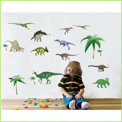 Dinosaur Boys Wall Art Stickers on WallStickers.ie