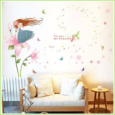 Fairy Darling Wall Stickers on WallStickers.ie