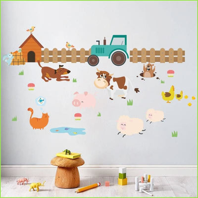 Farm Tractor Wall Stickers on WallStickers.ie