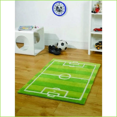 Football Pitch Rug Wall Stickers for Kids
