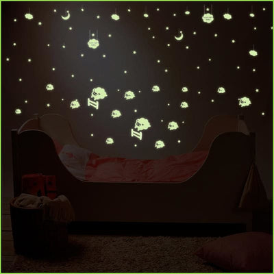 Glow In The Dark Sheep - Decals