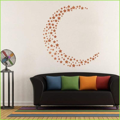 Gold Stars Wall Stickers on WallStickers.ie
