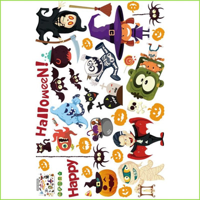 Halloween Character Stickers on WallStickers.ie