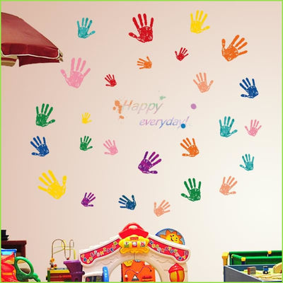 Hand Print Wall Stickers on WallStickers.ie