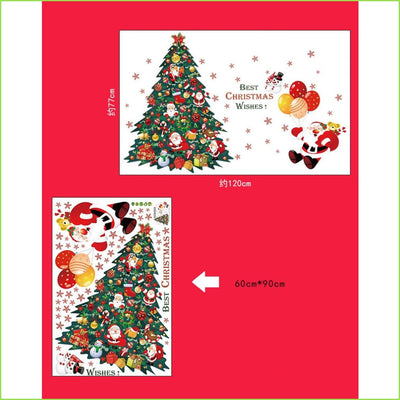 Happy Christmas Tree Decal - Decals